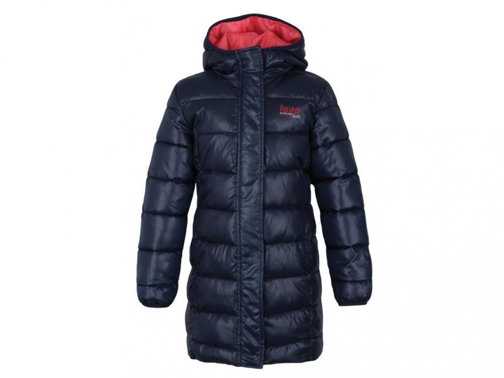 Kabát dětský LOAP ILIVANA tm.modrý 9e54b77798
