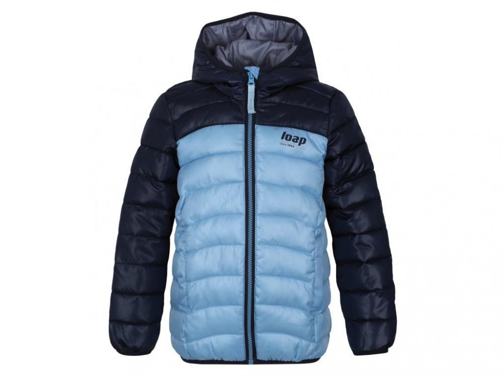 Bunda dětská LOAP IMEGO zimní modrá 1e903f52df